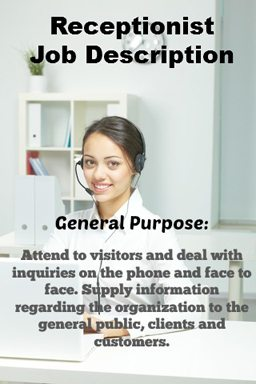 why is a receptionist important