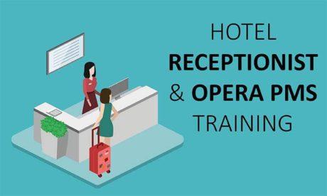 hotel receptionist & Opera Pms