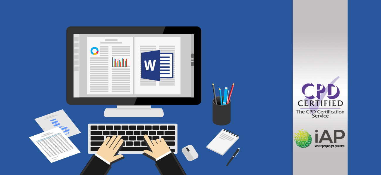Advanced Microsoft Word 2016 Training Course with Online Certification