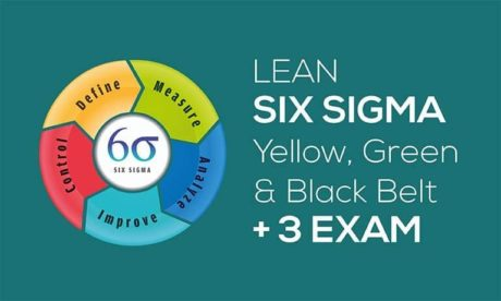 IASSC Lean Six Sigma Bundle – Yellow, Green & Black Belt + All 3 Official Exams
