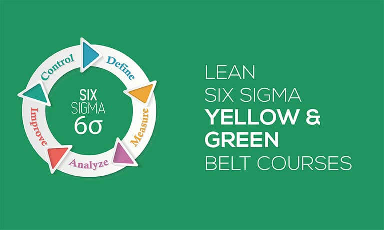 Iassc Lean Six Sigma Yellow Green Belt Courses Bundle With Mock Exams