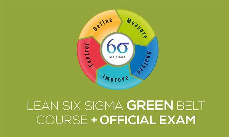 Lean Six Sigma Green Belt Certification Course With Official Exam