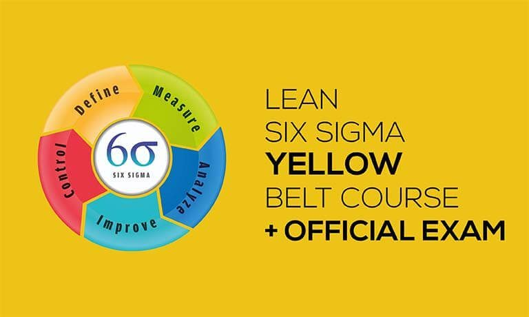 Lean Six Sigma Yellow Belt Certification Course With Official Exam