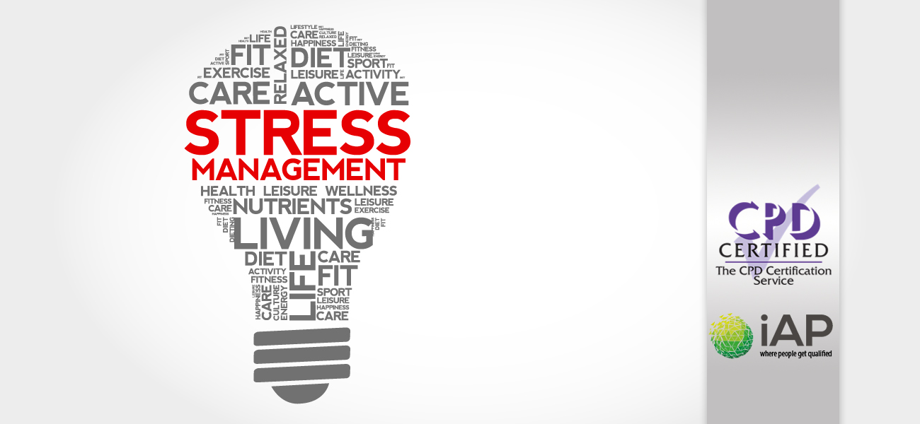 Stress Management Skills Training Course With Diploma Certification