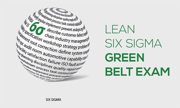 Lean Six Sigma Green Belt Exam | IASSC Certified Green Belt (ICGB) Exam