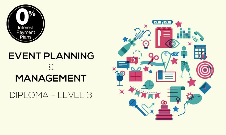 Event Planning And Management Diploma  Level  Training Course