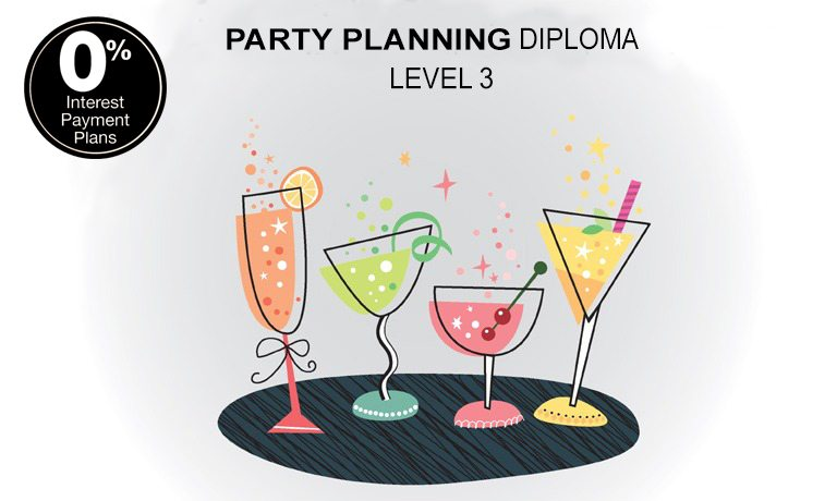 party planning diploma level 3 training course with online certification