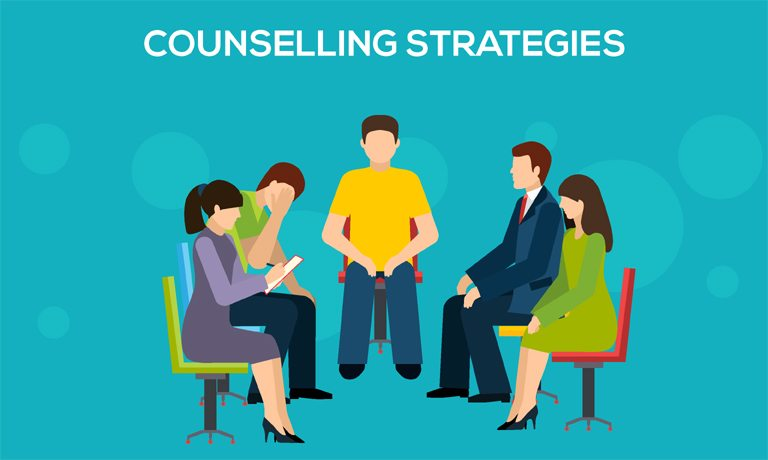 counselling strategies Counselling strategies can be a powerful means of helping people and must be used appropriately while there are dozens of counselling strategies, the ones selected for this course have met certain.