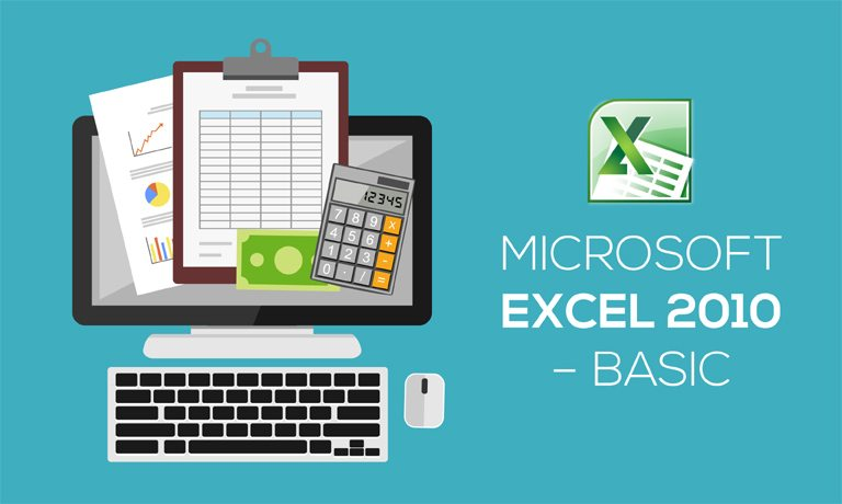 Microsoft Excel 2010 Basic Training Course With Online Certification