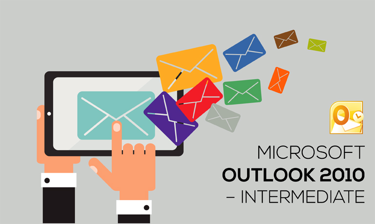 Microsoft Outlook 2010 Intermediate Training Course With Online