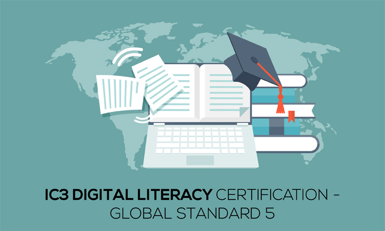 Ic3 Digital Literacy Certification Global Standard 5 Live Practice