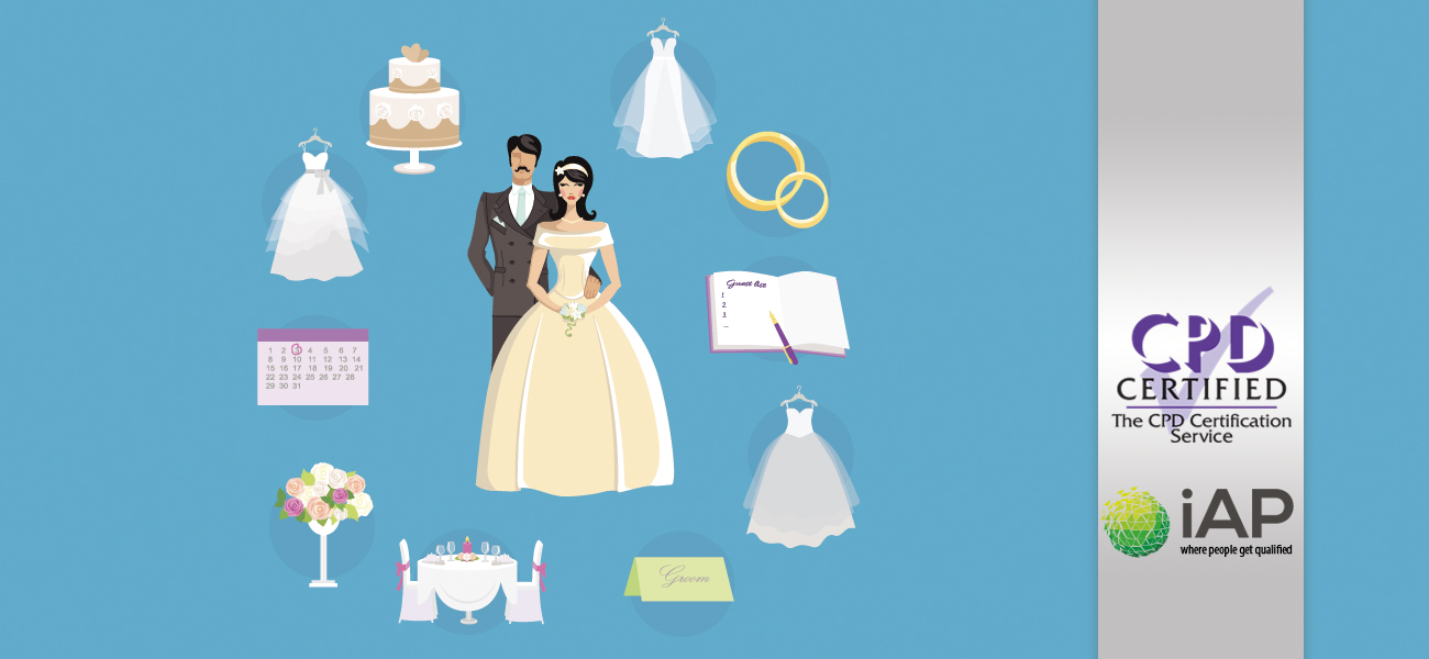 Diploma in Wedding Planning – Level 3