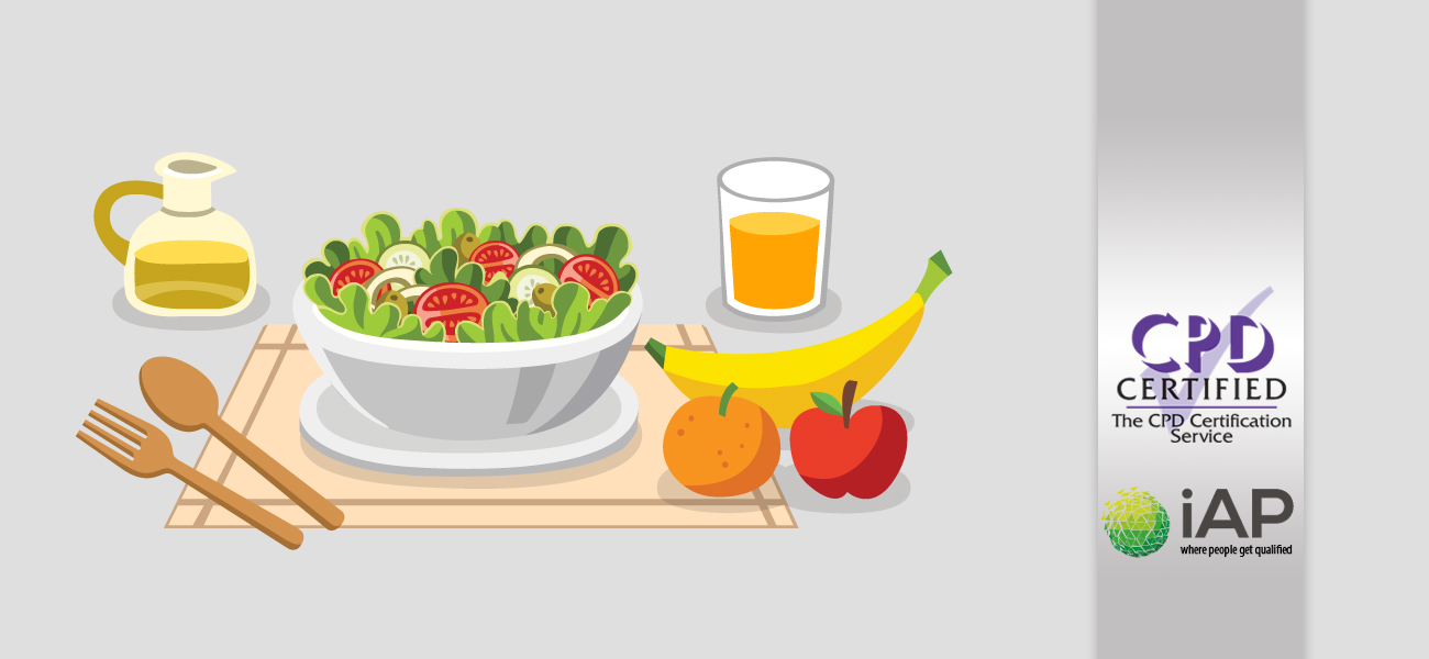 Diploma in Diet for Health & Beauty – Level 3