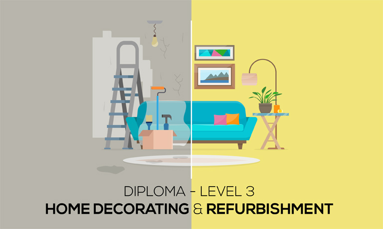 Diploma In Home Decorating Refurbishment Level 48 Global Edulink Fascinating Graphic Design At Home Decoration