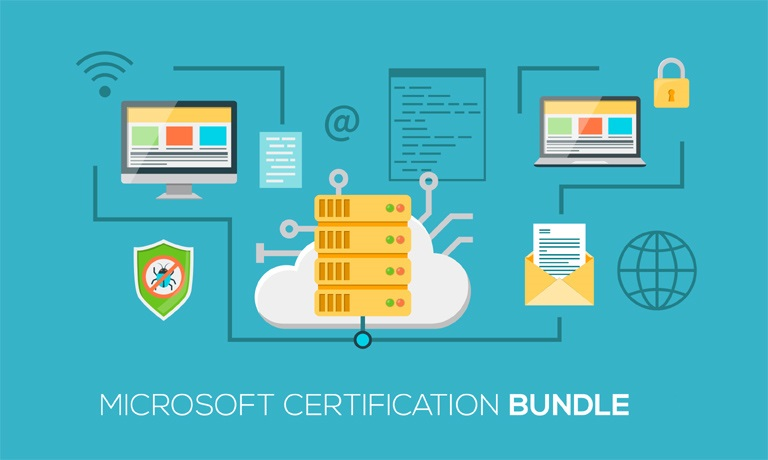 Microsoft Certification Standard Course Bundle With Online Certification
