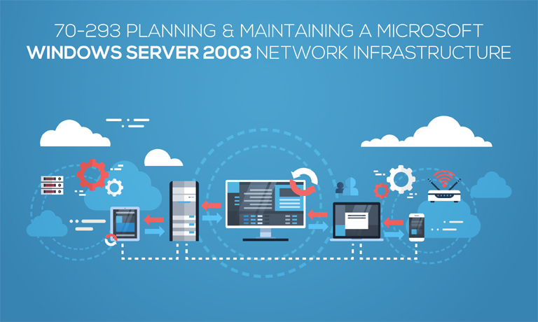 Planning & Maintaining a Microsoft Windows Server 2003 Network Infrastructure v70-293 course