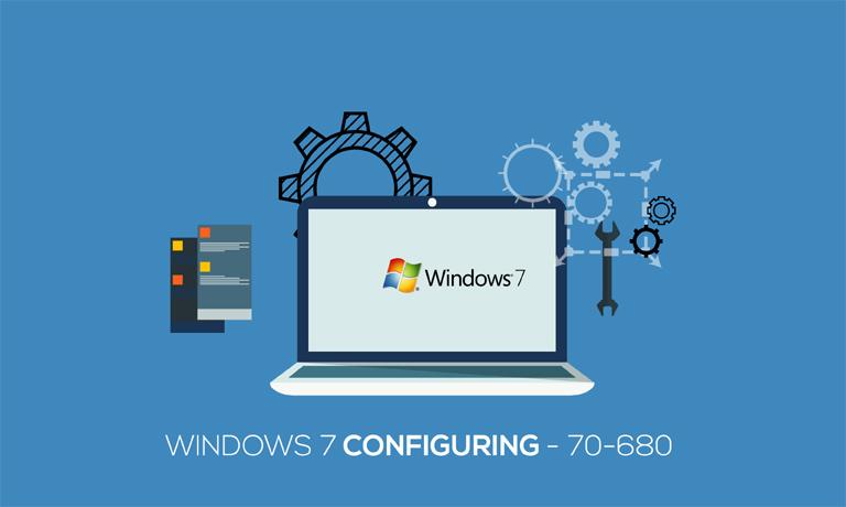 Windows 7 Configuring 70-680 course