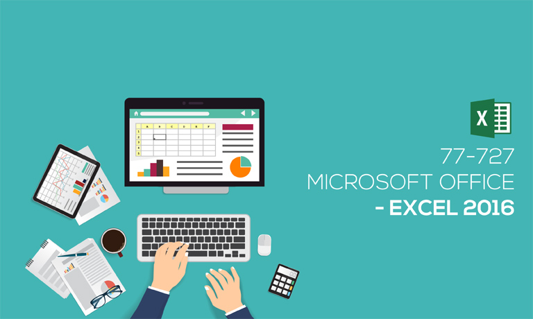 Microsoft-Office-Excel-2016 v77-727 online course