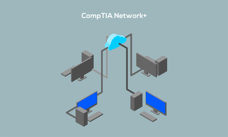 CompTIA network course image