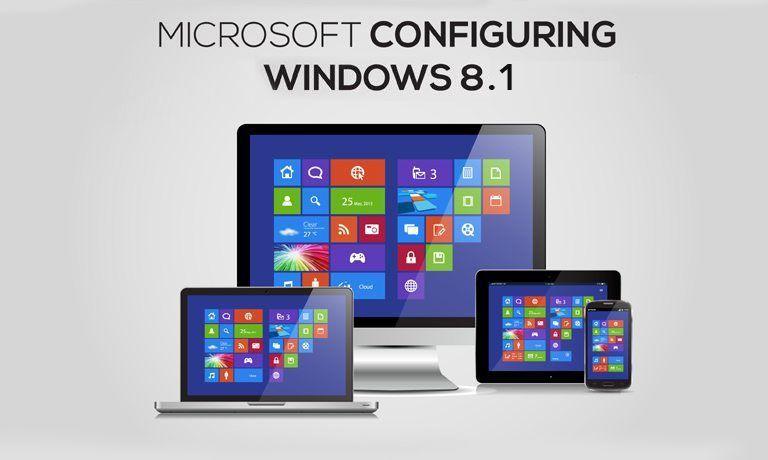 Microsoft Windows 8.1 configuring course online