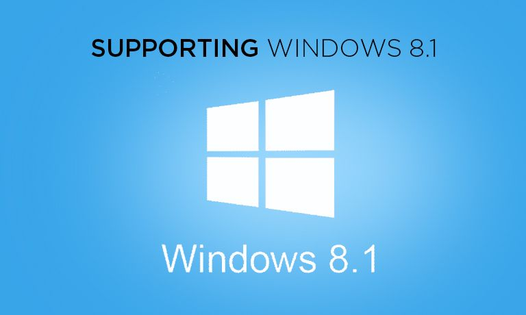 Windows 8.1 supporting online course