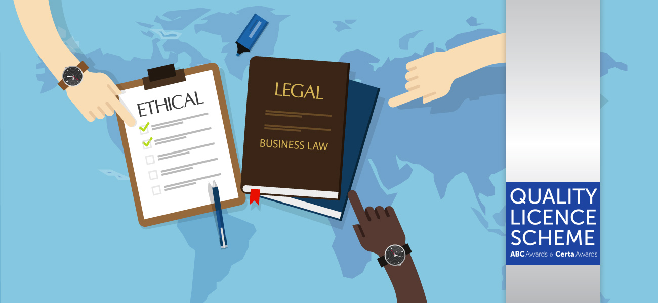 Diploma in Business Ethics and Law – Level 3