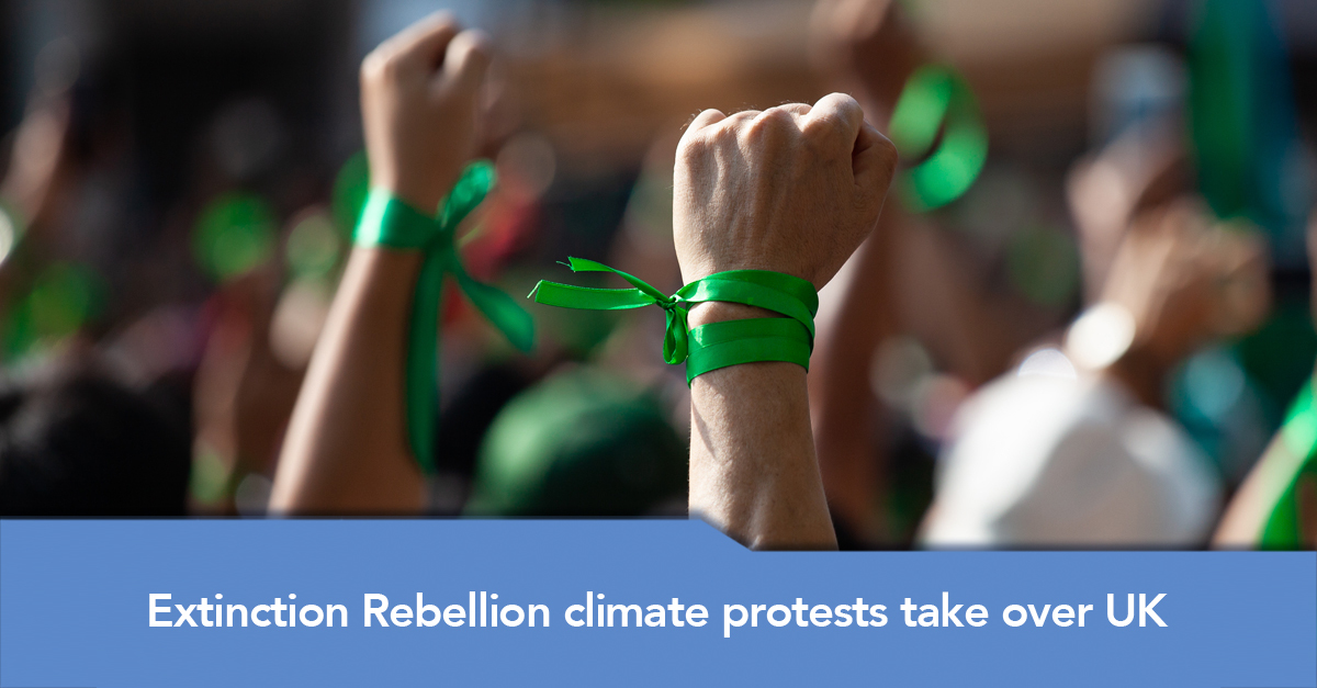 Extinction Rebellion Climate Protests Take Over Uk