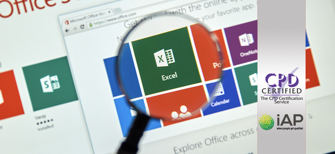 Microsoft Office 2019 Excel – Beginner