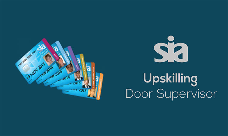 Sia Upskilling Door Supervisor Training Course Global